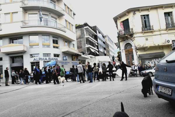 Γιάννενα: Επεισόδια χθες με αφορμή την κατάληψη στην οδό Κουρεμένου