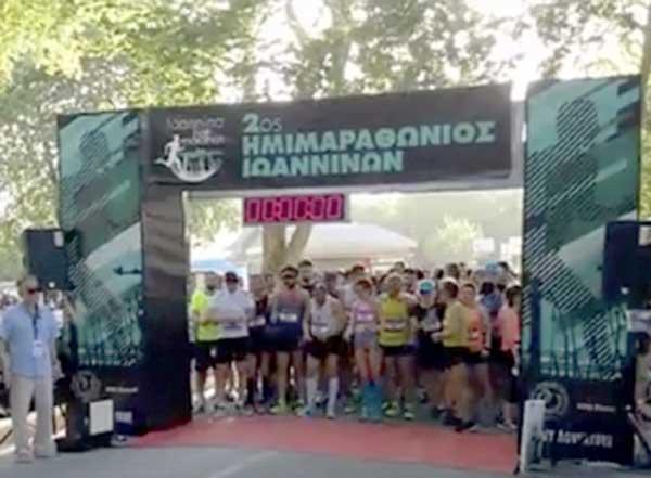 Γιάννενα: Με μεγάλη επιτυχία διοργανώθηκε και φέτος ο 2ος νυχτερινός ημιμαραθώνιος!