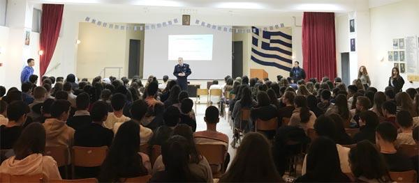 Γιάννενα: Ενημέρωση στο 5ο Γυμνάσιο για θέματα Κυκλοφοριακής Αγωγής