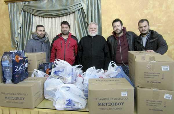 Γιάννενα: Δράση ανθρωπιάς και αλληλεγγύης από την ΟΝΝΕΔ Ιωαννίνων
