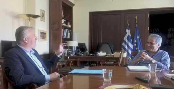 Γιάννενα: Με τον Δήμαρχο Ζίτσας τα είπε χθες ο Υπ. Εσωτερικών