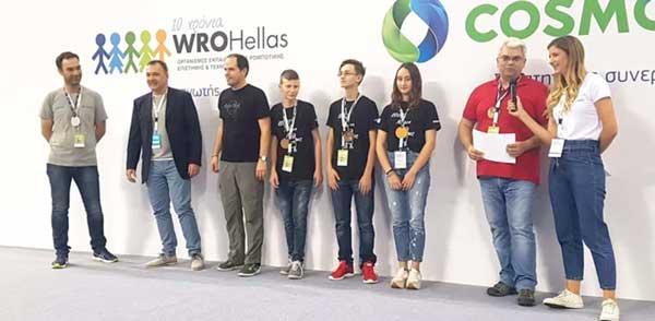 Γιάννενα: Μαθητές των Ιωαννίνων ξεχώρισαν σε διαγωνισμό της Εκπαιδευτικής Ρομποτικής
