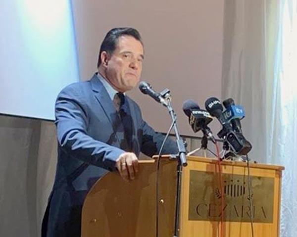 Γιάννενα: Λάβρος κατά της Κυβέρνησης ο Αδ. Γεωργιάδης στα Γιάννενα