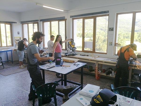 Γιάννενα: Πρωτότυπο σκαπτικό χειρός κατασκεύασαν οι… Tzoumakers