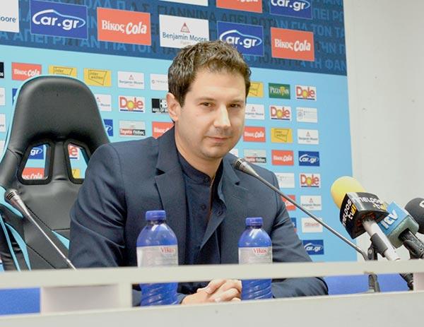 Γιάννενα: Στόχος του Γιαννίκη η άμεση επάνοδος στην Super League