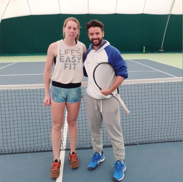 Γιάννενα: Η Δέσποινα Παπαμιχαήλ στο Topspin Epirus Tennis Center