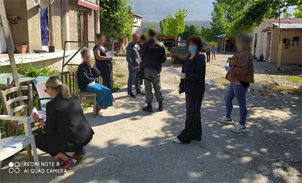 Γιάννενα: Ενημέρωση από το Δ. Ιωαννιτών στις οικογένειες των Ρομά
