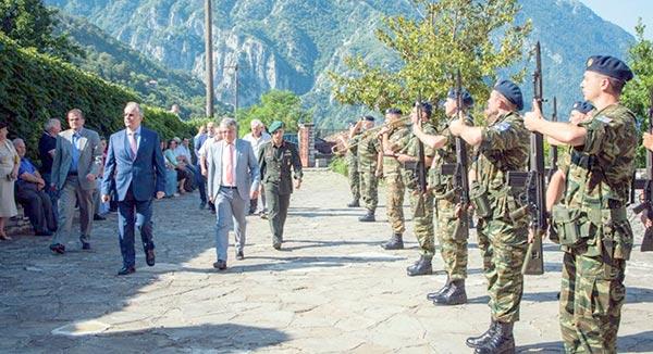 Γιάννενα: Πλήθος πιστών στις εκδηλώσεις για τον Άγιο Παϊσιο στην Κόνιτσα
