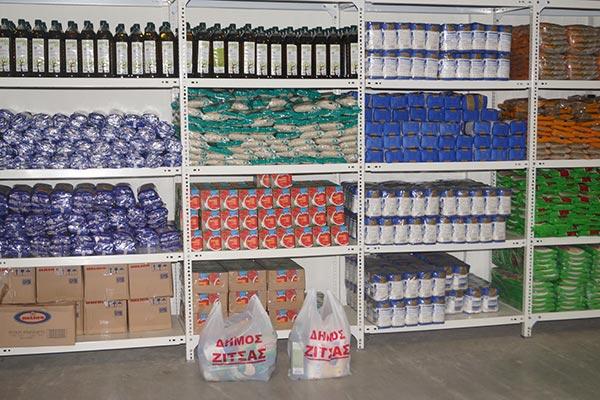 Γιάννενα: Ανάγκες σε πολλά βασικά αγαθά καλύπτει το Κοινωνικό Παντοπωλείο