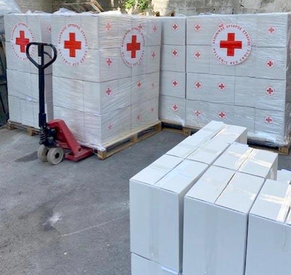 Γιάννενα: Ανθρωπιστική βοήθεια στο Λίβανο από τον Ελληνικό Ερυθρό Σταυρό